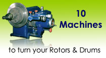 10 Machines to run your rotors and drums
